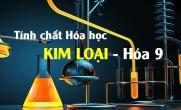 Tính chất hóa học của kim loại, ví dụ và bài tập - hóa lớp 9